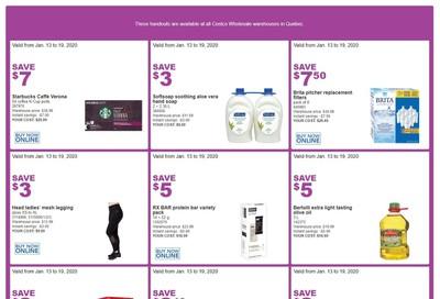 Costco (QC) Weekly Savings January 13 to 19