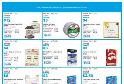 Costco (QC) Weekly Savings January 4 to 17