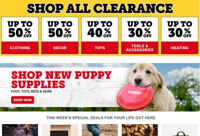 Tractor Supply Co. Weekly Ad Flyer January 4 to January 11