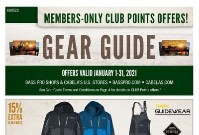 Cabela's Weekly Ad Flyer January 1 to January 31