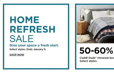 Kohl's Weekly Ad Flyer January 4 to January 6