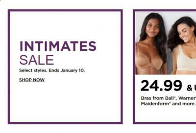 Kohl's Weekly Ad Flyer January 4 to January 10