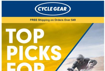 Cycle Gear Weekly Ad Flyer January 5 to January 12