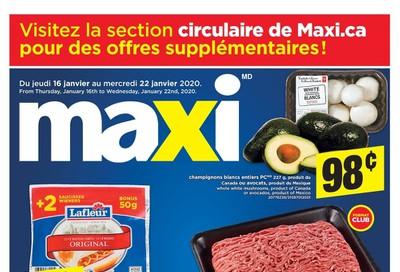 Maxi Flyer January 16 to 22