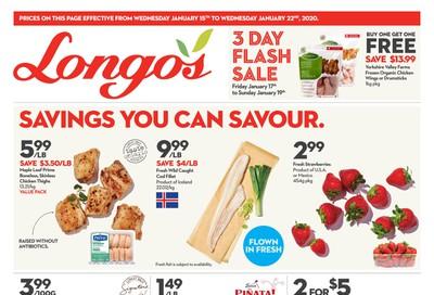 Longo's Flyer January 15 to 22