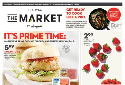 The Market by Longo's Flyer January 15 to 22