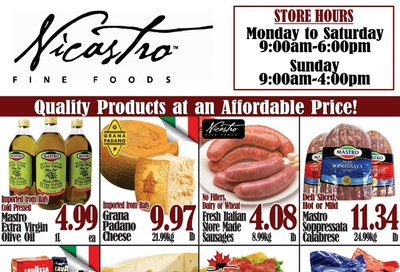 Nicastro Fine Foods Flyer January 13 to 26