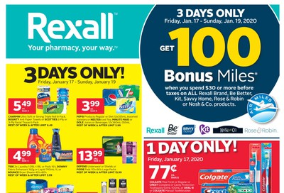 Rexall (ON) Flyer January 17 to 23