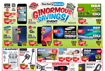 Factory Direct Flyer January 10 to 22