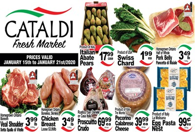 Cataldi Fresh Market Flyer January 15 to 21