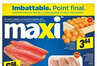 Maxi & Cie Flyer January 7 to 13