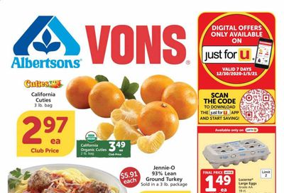Albertsons Weekly Ad Flyer January 6 to January 12
