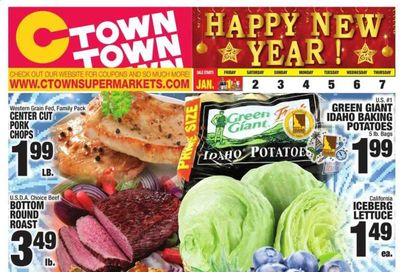 C-Town Weekly Ad Flyer January 1 to January 7