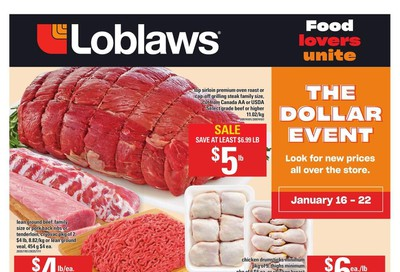 Loblaws (ON) Flyer January 16 to 22