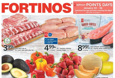 Fortinos Flyer January 16 to 22