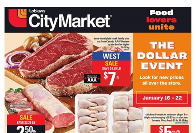 Loblaws City Market (West) Flyer January 16 to 22