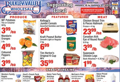 Bulkley Valley Wholesale Flyer January 15 to 21