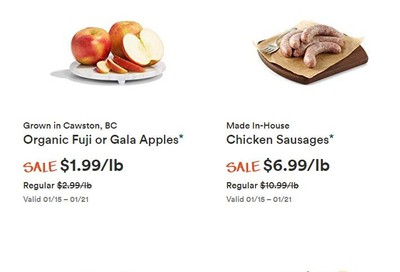 Whole Foods Market (West) Flyer January 15 to 21