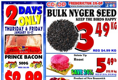 Fredericton Co-op Flyer January 16 to 22