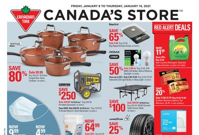 Canadian Tire (ON) Flyer January 8 to 14