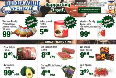 Bulkley Valley Wholesale Flyer January 7 to 13