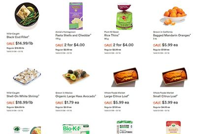Whole Foods Market (West) Flyer January 6 to 12