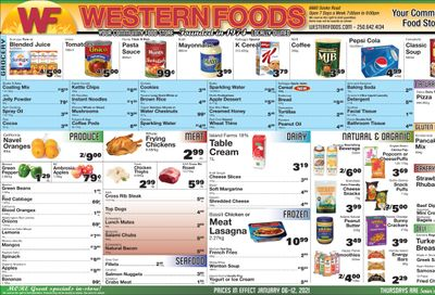 Western Foods Flyer January 6 to 12