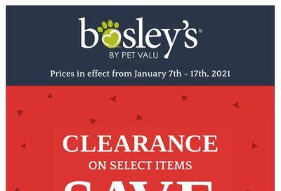 Bosley's by PetValu Flyer January 7 to 17