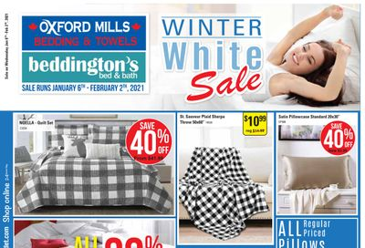 Beddington's Flyer January 6 to February 2