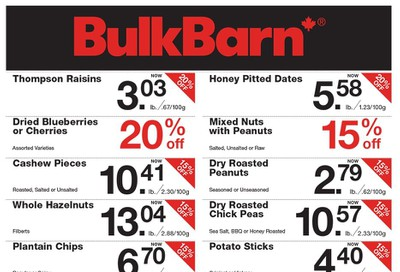 Bulk Barn Flyer January 16 to 22