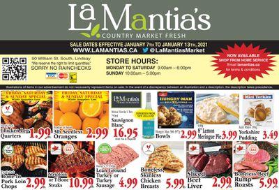 LaMantia's Flyer January 7 to 13