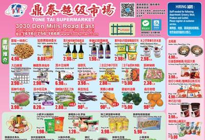 Tone Tai Supermarket Flyer September 27 to October 3