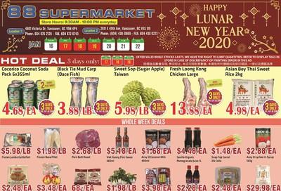 88 Supermarket Flyer January 16 to 22