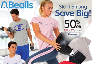 Bealls Florida Weekly Ad Flyer January 6 to January 12
