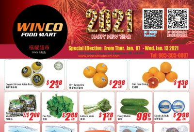 WinCo Food Mart (HWY 7) Flyer January 7 to 13