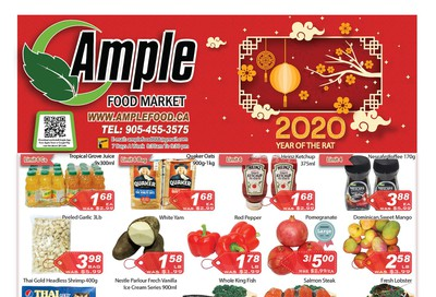 Ample Food Market Flyer January 17 to 23