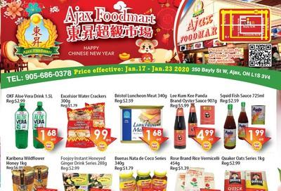 Ajax Foodmart Flyer January 17 to 23