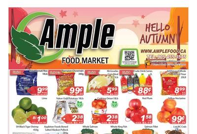 Ample Food Market Flyer September 27 to October 3