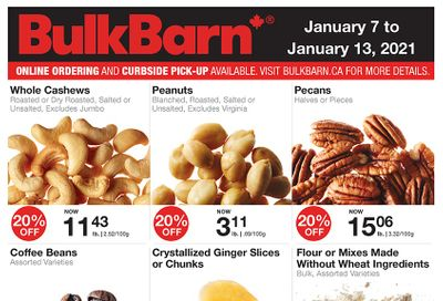 Bulk Barn Flyer January 7 to 13