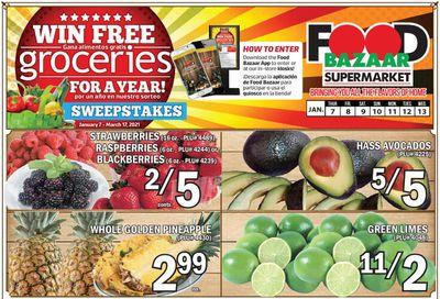 Food Bazaar Supermarket Weekly Ad Flyer January 7 to January 13, 2021