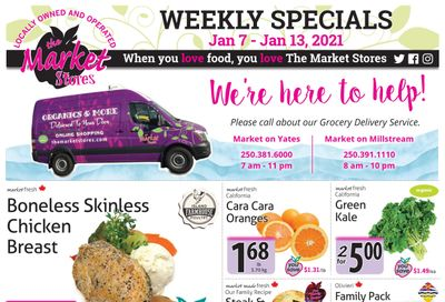 The Market Stores Flyer January 7 to 13