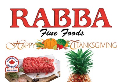 Rabba Flyer September 28 to October 4