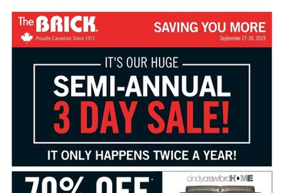 The Brick Flyer September 27 to 30