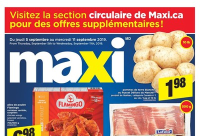 Maxi & Cie Flyer September 5 to 11