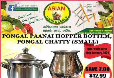 Asian Cash & Carry Flyer January 8 to 14