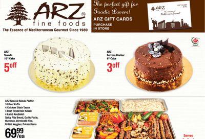Arz Fine Foods Flyer January 8 to 14