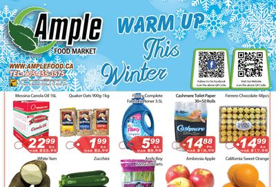 Ample Food Market Flyer January 8 to 14