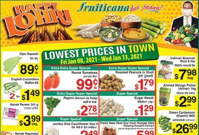 Fruiticana (Edmonton) Flyer January 8 to 13