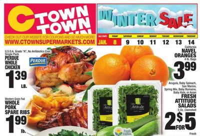 C-Town Weekly Ad Flyer January 8 to January 14