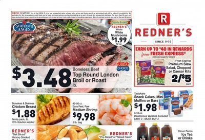 Redner's Markets Weekly Ad Flyer January 7 to January 13